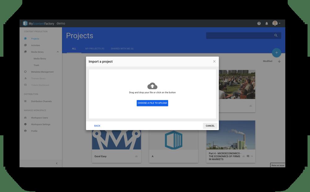 Retrieve Content Catalog