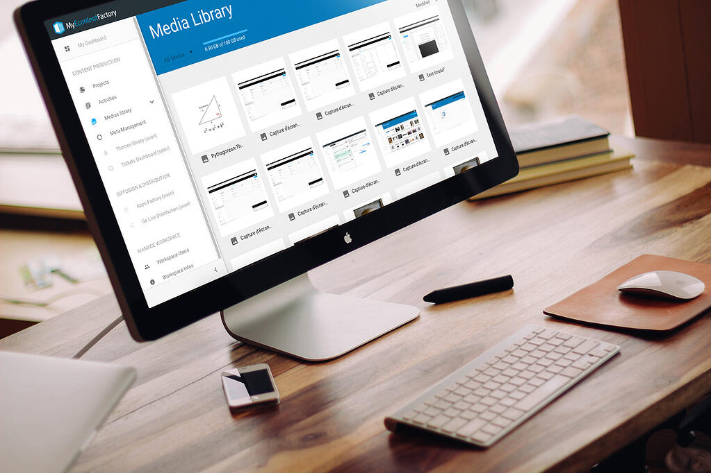 Authoring tool - my econtentfactory