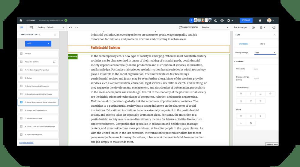 Mutualize Content Development