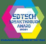Gutenberg-EdTech_Breakthrough_Award Badge_2021
